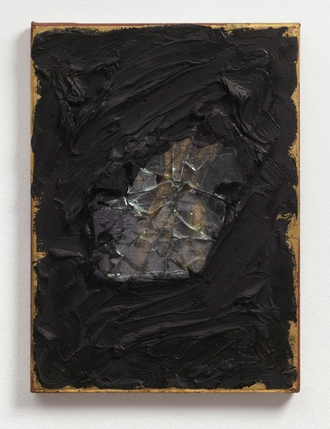 Apollo II, 1986 Oil and mixed media on canvas 36 x 26 x 2.5 cm