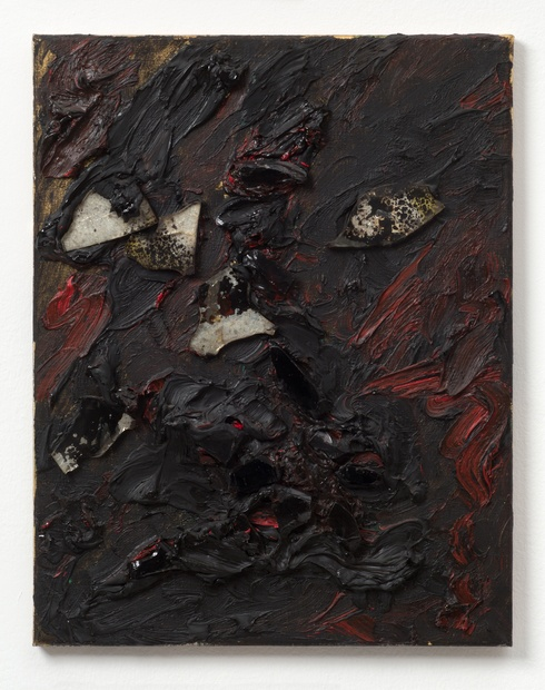 This precious stone, 1986 Oil and mixed media on canvas 46 x 35.9 cm 18 1/8 x 14 1/8 in