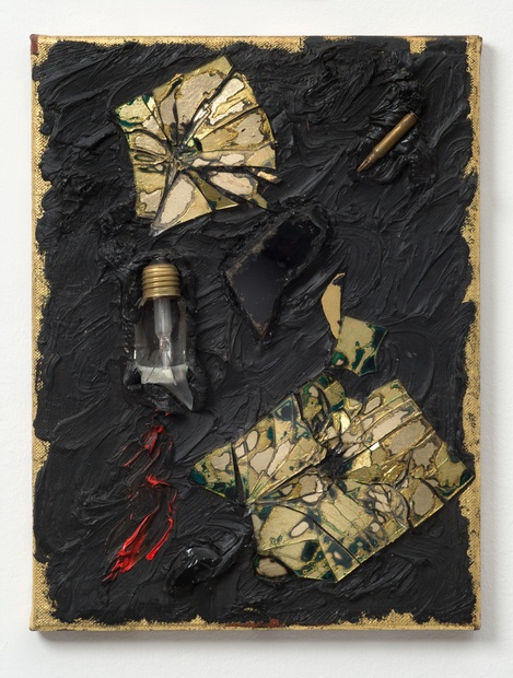 This Instant, 1987 Oil and mixed media on canvas 41 x 31.1 cm 16 1/8 x 12 1/4 in